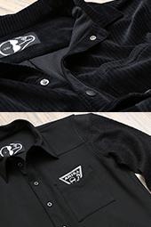 CLOSE UP!! 009 ATソフトコーデュロイポロ/ATニットスリーブシャツ