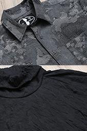 CLOSE UP!! 011 ATブロードタイプシャツ/ATプリーツタートルネックプルオーバー