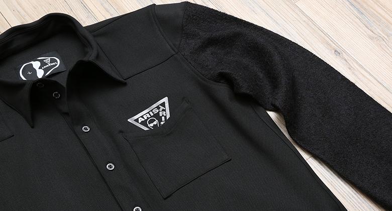 ATスリーブラインシャツ