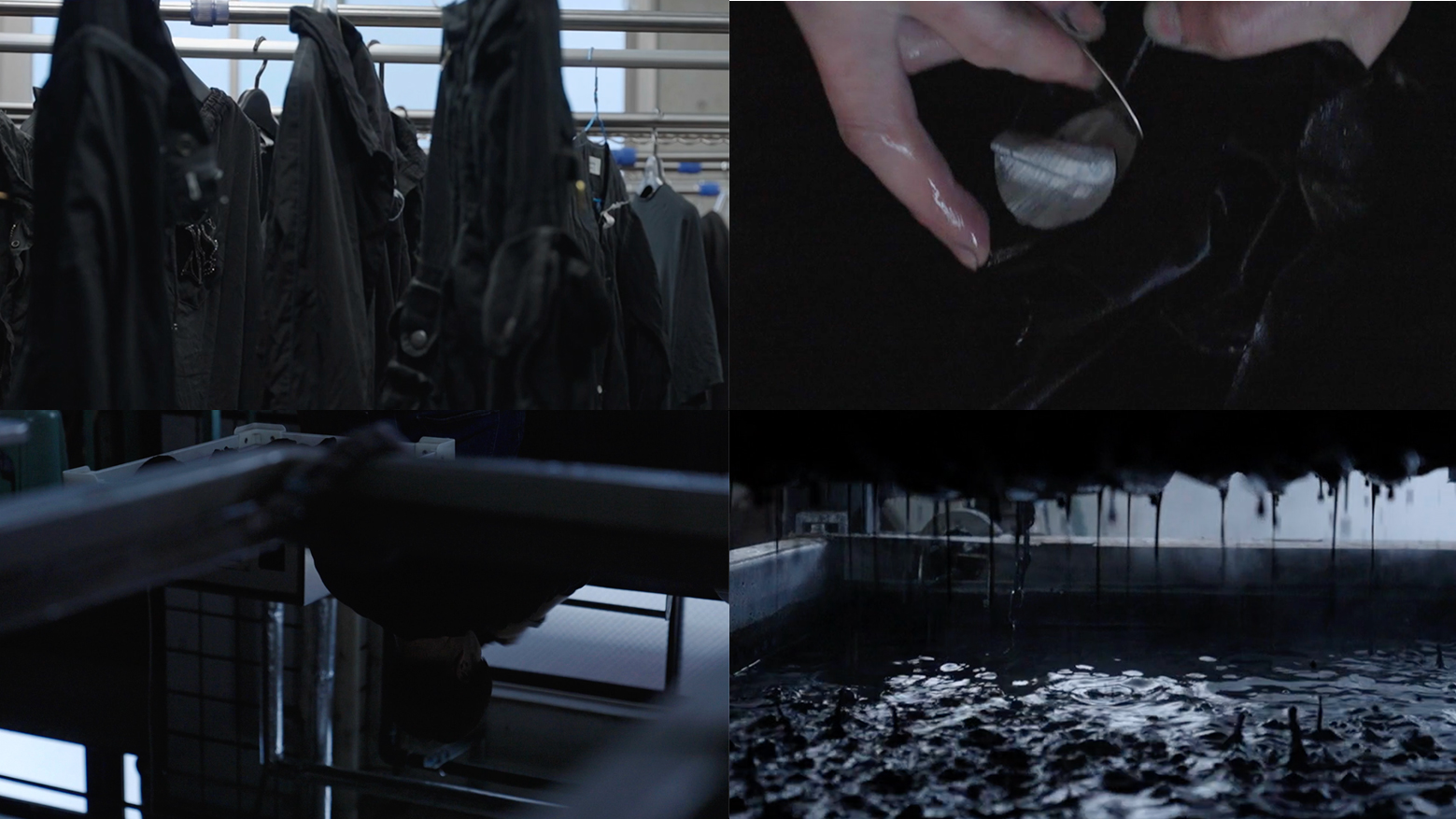 京都紋付の黒染め